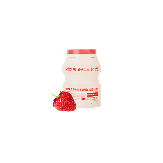 A'PIEU Real Big Yogurt One-bottle(Strawberry)