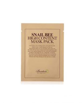 BENTON Snail Bee High Content MaskPack