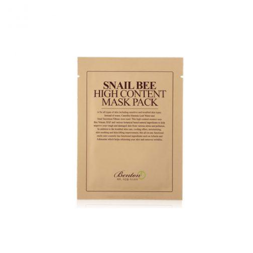 BENTON Snail Bee High Content MaskPack - 10 Sheets