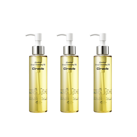 Ciracle Absolute Deep Cleansing Oil (3 Set)