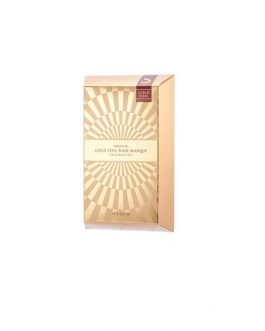It Skin Prestige Gold Foil Hair Masque D'escargot Set