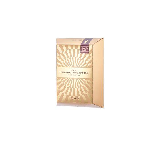 It Skin Prestige Gold Foil Hand Masque D'escargot Set