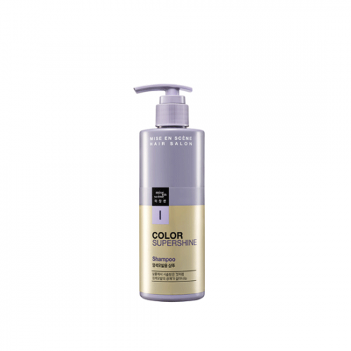 Mise en scene Hair Salon Color Supershine Shampoo