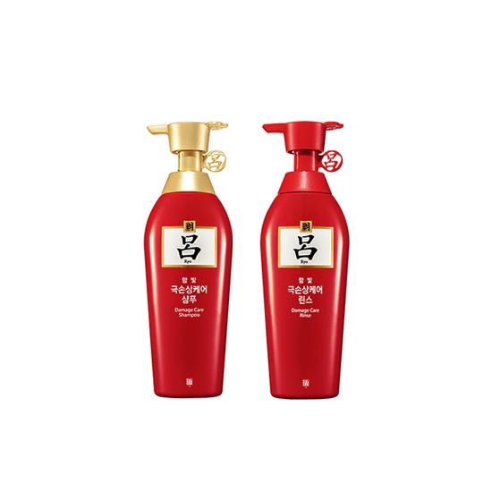 RYEO Ham Bit Damage Care Shampoo + Conditioner Set