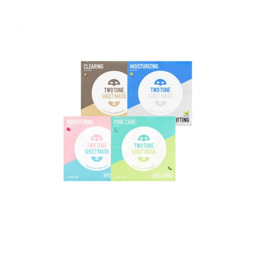 LANEIGE Two Tone Sheet Mask - Clearing and Nourishing