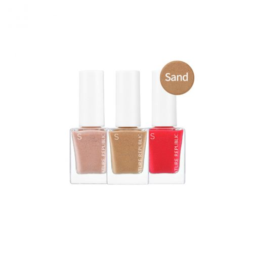 NATURE REPUBLIC 2018 Color and Nature Nail Color-Sand - #49 Sweet Hot Pink