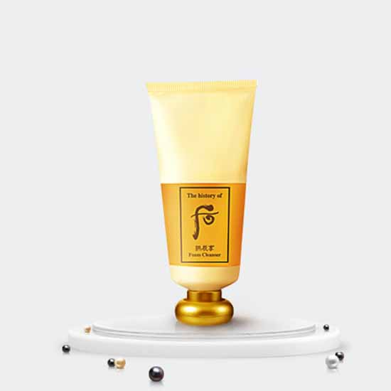 The Whoo Gongjinhyang Foam Cleanser