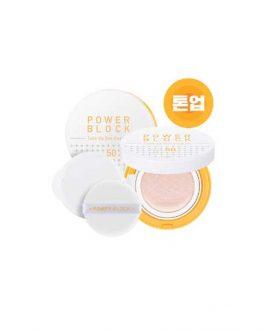 A'pieu Power Block Tone-up Sun Cushion SPF50+/PA++++