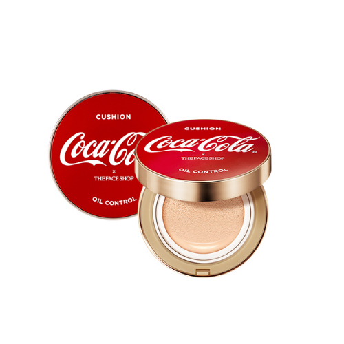 The Face Shop COCA-COLA Oil Control Water Cushion