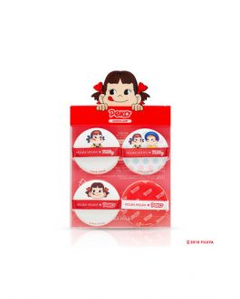 Holika Holika Sweet Peko Edition Hard Cover Cushion Puff (4ea)