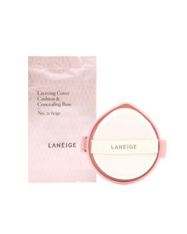 Laneige Layering Cover Cushion SPF34 PA ++ (Refill)