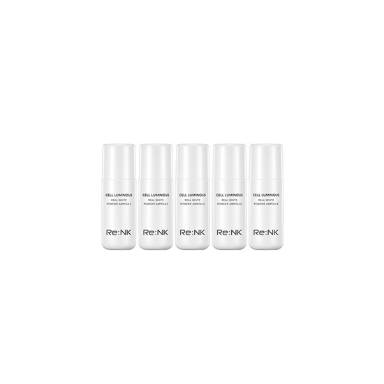 Re:NK Cell Luminous Real White Powder Ampoul