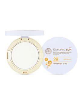 The Face Shop Natural Sun Eco Baby Mild Sun Cushion SPF28 PA ++