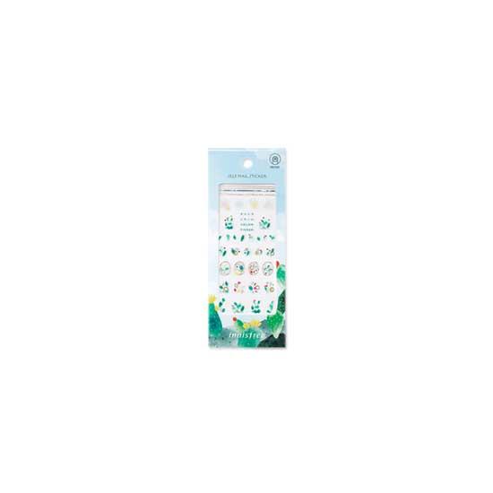 INNISFREE [2018 Jeju Color Picker] Self Nail Sticker-Wollyeong-ri Cactus Town