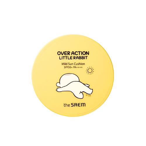 the SAEM Eco Earth Power Mild Sun Cushion (Over Action Little Rabbit Edition)