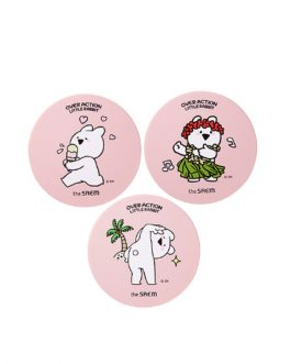 the SAEM Eco Soul Power Stay Cushion Case (Over Action Little Rabbit Edition)