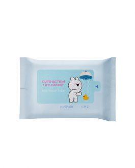 the SAEM Manner Mode Body Shower Tissue (Over Action Little Rabbit Edition)