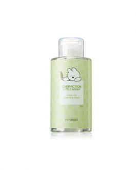 the SAEM Healing Tea Garden Green Tea Cleansing Water (Over Action Little Rabbit Edition)