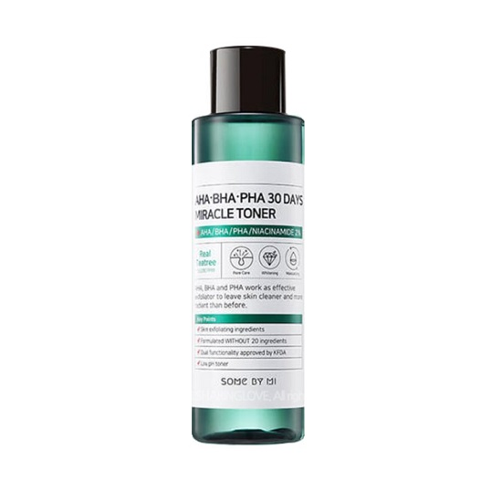 SOME BY MI AHA/BHA/PHA 30 Days Miracle Toner
