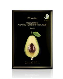 JM SOLUTION Water Luminous Avocado Nourishing In Oil Mask Black