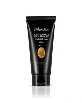 JM SOLUTION Honey luminous royal propolis Cleansing Foam Black