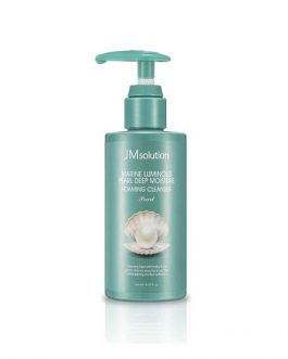JM SOLUTION Marine luminous pearl deep moisture foam cleanser