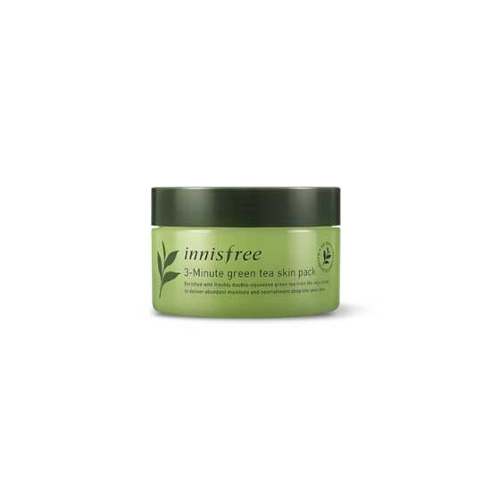INNISFREE Green Tea 3-minute Skin Pack