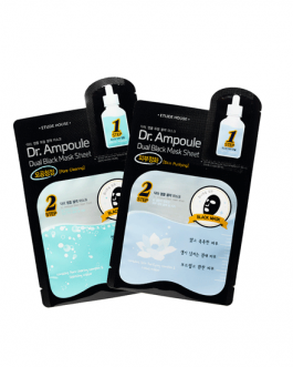 Etude House Dr. Ampoule Dual Black Mask Sheet
