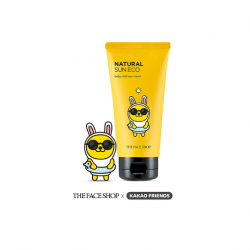 The Face Shop KAKAO FRIENDS EDITION Natural Sun Eco Baby Mild Sun SPF30 PA++