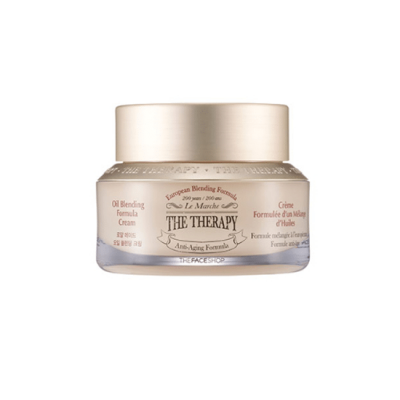 The Face Shop The Therapy Royal-Made Oil Blending Cream