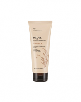 TheFaceShop Rice Water Bright Rice Bran Cleansing Foam