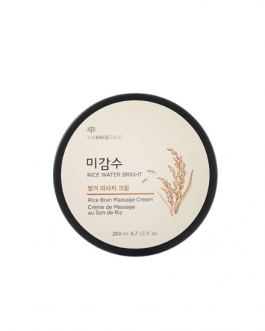 TheFaceShop Rice Water Bright Rice Bran Massage Cream