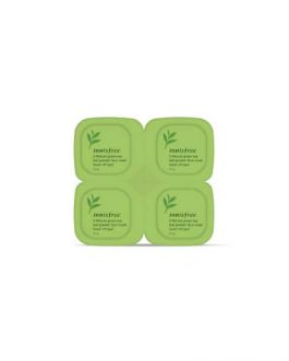 INNISFREE Green Tea 5-minute Tea Leaf Mask