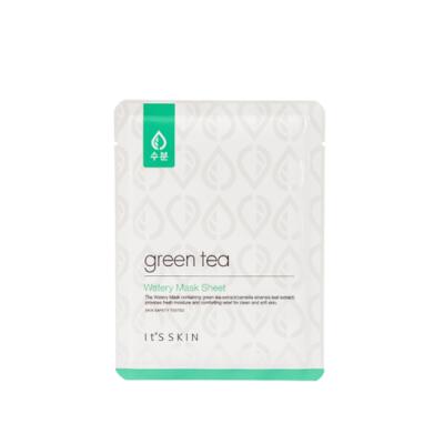It's SKIN Green Tea Watery Mask Sheet - 5 Sheets