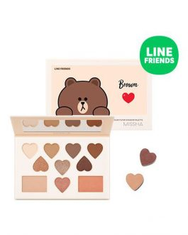 Missha Color Filter Shadow Palette (Line Friends Edition)