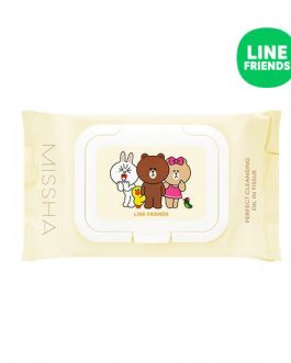 Missha Super Aqua Cleansing Oil In Tissue (Line Friends)