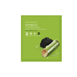 Nature Republic Bamboo Charcoal Black Mask Sheet