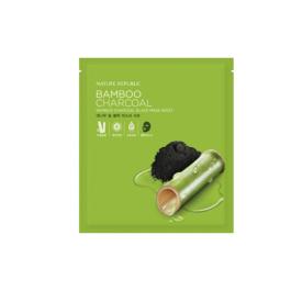 Nature Republic Bamboo Charcoal Black Mask Sheet