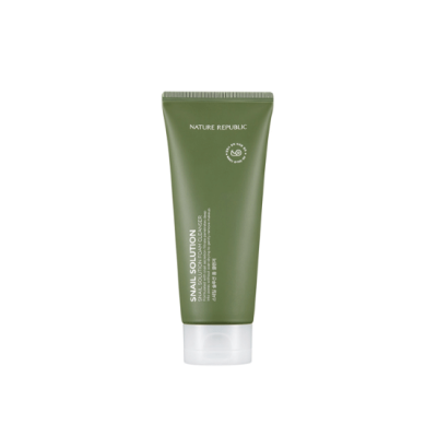 Nature Republic Snail Solution Foam Cleanser