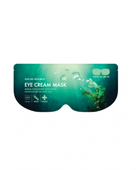 Nature Republic Pure Shine Jelly Fit Tint Aqua Collagen Solution Marine Hydrogel Eye Cream Mask
