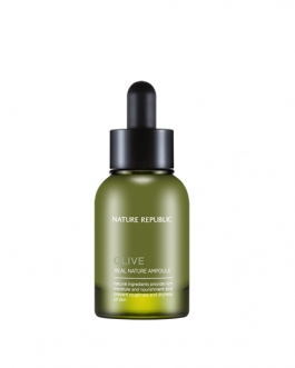 Nature Republic Real Nature Ampule Olive