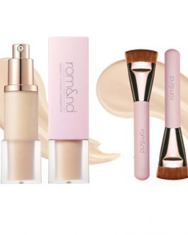 Rom&nd Perfect Fitting Foundation+Brush