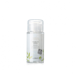 the SAEM Healing Tea Garden WhiteTea Lip & Eyes Remover