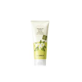 the SAEM Healing Tea Garden Green Tea Cleansing Foam