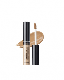 the SAEM Cover Perfection Tip Concealer (Contour Beige / Brightener)
