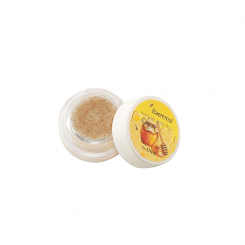 the SAEM Saemmul Honey Lip Scrub Pot