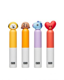 VT BT21 GLOW LIP LACQUER - 04 POTENT RED