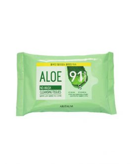 ARITAUM Aloe No Wash Cleansing Tissue