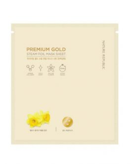 Nature Republic Premium Gold Steam Foil Mask Sheet