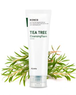 A'PIEU Nanco Tea Tree Cleansing Foam